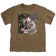 Elvis Presley Kids T-Shirt GI Blues Army Dog Tag Safari Tee