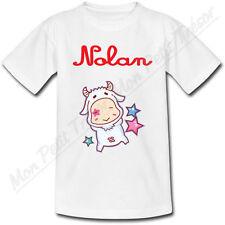 T-shirt Enfant Capricorne Horoscope avec Prénom Personnalisé