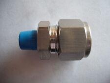 """Véritable Ham-Let connecteur mâle 1/2 """"x 1/8"""" npt raccord en acier St. 768lss1 / 2X1 / 8"""