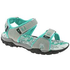 Ladies PDQ Adjustable Sports Walking Sandals Black L498A KD-UK 7 (EU 40) 2m7a0uvk