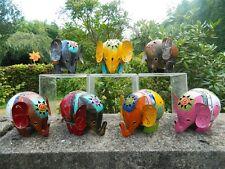 Elefante LANTERNA TEA LIGHT portacandele in metallo in piedi elefante assortiti