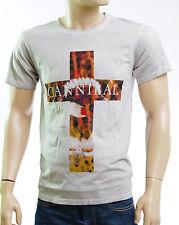 ELEVEN PARIS Tee shirt homme modèle T Shirt DAMICAL gris deep dye ELEVENPARIS