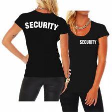 Frauen T-Shirt Security Sicherheitsdienst Türsteher Berufsbekleidung Türsteher