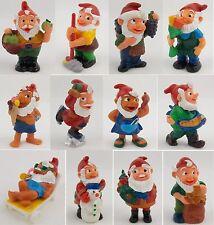 Überraschungsei Figuren Jahreszeiten Zwerge 1994 Auswahl UeEi