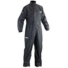 Ixon compact noir Moto 1 rain-suit imperméable légère avec sac