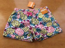 NWT Gymboree Girls Shorts Summer pineapple7,8,10