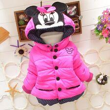 Giacca  bambina minnie giubbino  1-6 anni parka kids jacket