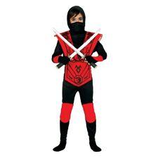 Kinder Samurai Ninja Kostüm Kämpfer Kinderkostüm Ninjakrieger Kung Fu Outfit