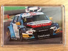 FIA WTCC 2017 ALL Drivers/Cars ~ Citroen Honda Volvo ~ Fridge Magnet/Mini Frame