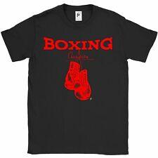 Guanti DA Pugilato Champion rosso sport t-shirt da uomo