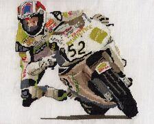 Carl Fogarty, James Toseland, Joey Dunlop, superbike cross stitch kit