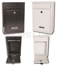 IMPERMEABILE PARETE lettera posta casella POSTALE CASSETTA postale buca delle lettere casella postale con serratura