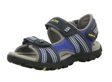 Geox Jungen Sandalen Größe 27 31 32 34 Strada A J4224A Echtes Leder