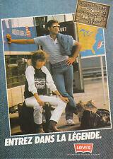 Publicité ancienne mode Levi's Jean 1982 issue de magazine