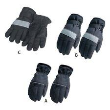 Adult Children Winter Warm Waterproof Snow Skiing Gloves Full Finger Mittens