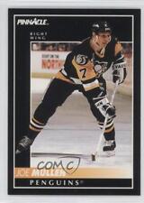 1992-93 Pinnacle #360 Joe Mullen Pittsburgh Penguins Hockey Card