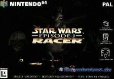 N64 Star Wars: Episode 1 Racer  / Zustand auswählbar