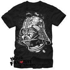 Star Wars Darth Star Darth Vader Death Star Licensed Adult T Shirt S-2XL