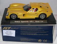 FLY A66 PANOZ ESPERANTE GTR 1 ROAD CAR YELLOW MB