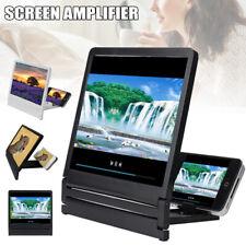 3D Mobile Phone Screen Magnifier 2-4 Times HD Video Amplifier Foldable Bracket