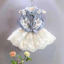 Baby clothing Fashion Girls Jeans Vest Autumn kids jacket children waistcoat