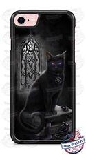Salem Black Cat Witchcraft Magic Spell Phone Case Cover for iPhone Xs Max LG etc