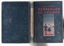 Y. OSTROGA MERVEILLES DE FRANCE METIERS CULTURES 90 ILLUSTRATIONS 1943 REGIONS
