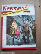 Newsweek 1953 Sept. 21 Atomic Sub Superb  Condition!