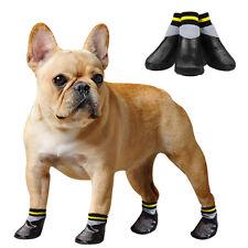 Soft Hundeschuhe Pfotenschutz Schuhe für Hunde Schuhe Hundesocke Schwarz 6 Größe