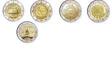 2 Euro Sondermünzen IRLAND ab 2007 alle Jahre - frei wählbar - prägefrisch
