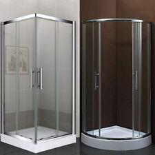 Duschabtrennung Echtglas inkl. hohe Duschtasse Duschkabine Dusche Duschtrennwand