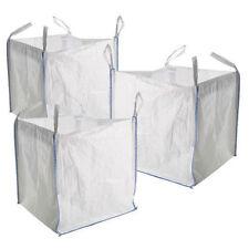1 TON FIBC BULK Borse costruttori i rifiuti di giardino 1 Tonnellata Jumbo sacchetti sacchi di archiviazione