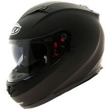 MT Blade SV Solid Matt Black Motorcycle Motorbike Helmet  Internal Sun Visor - T