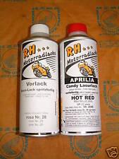Aprilia Lack Laque Color Set Candy Hot Red RSV Mille