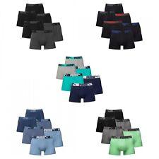 3er, 6er PUMA CAT Basic Hipster Boxershorts Trunk Boxer Pant Sparpack FARBWAHL