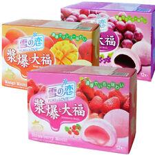 YUKI & LOVE Mochi Gift Set (Strawberry, Mango, Grape, Matcha, Peanut, Milk)