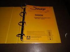 Werkstatthandbuch Diagnose Citroen Saxo Stand 2000-2002