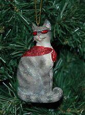 Cool Cat, Kitten Christmas Ornament
