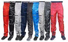Panno D'Or Shiny Nylon Parachute Pants 80s Nylon Wet Look Bottoms Cal Surf NEW