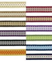 Trim Braid Flat Stitch Pattern Edging Craft Blinds Hats Upholstery 20mm