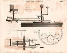 1816 DATATO stampa l'astronomia planetaria macchine Pearson i satelliti di Giove