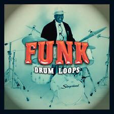 Funk Drum loops (24-bit WAV) cubase logic pro Tools Ableton Live fl studio Sonar