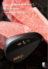 YURURI GOLF JAPAN TOUR MODEL WEDGE 60 deg HEAD ONLY One Club JPLGA Conforming