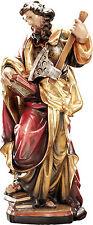 San Mattia in legno, St. Matthias Woodcarving San Matias en madera