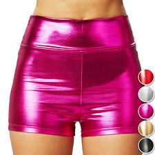 Gogo Club Party  Slip Panty Hotpants Kurze Tanz Hose Hipster*Gold* 34//36 XS//S!