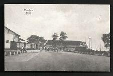 Cheribon Boom Train Harbour Java Indonesia ca 1910