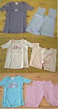 Mädchen lange Ski Unterwäsche Schlafanzug blau rosa lila 92 104 116 128 140 152