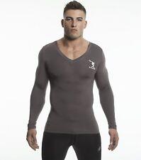 Long Sleeve Shirt (Grey) - Bamboo/Elastin Fiber