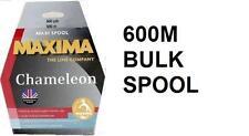 Brand New MAXIMA CHAMELEON 600M (660yds) 'MAXI' SPOOLS  2LB - 30LB FREE P+P
