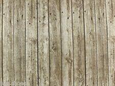 PLANCHE DE FOND BOIS Rideau Tapisserie Tissu Matériel /Extra Largeur 280cm